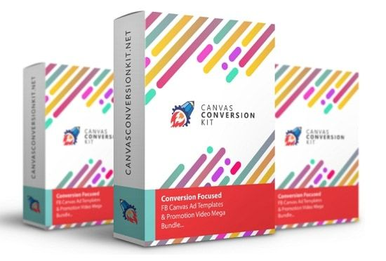 Canvas Conversion Kit is Brand New and Easy-to-use templates for your business objectives. You can create high converting Facebook Canvas using only powerpoint, no additional plugin required. Create a Facebook canvas advert in no time at all with one of our four optimised templates.