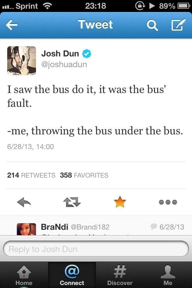 Joshua Dun everyone