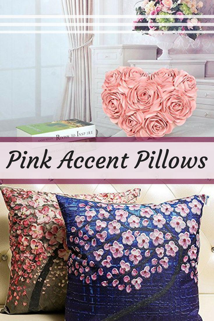 Best 25+ Pink throw pillows ideas on Pinterest   Pink throws ...