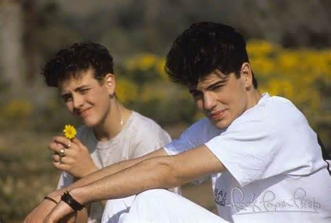 Joey McIntyre and Jordan Knight