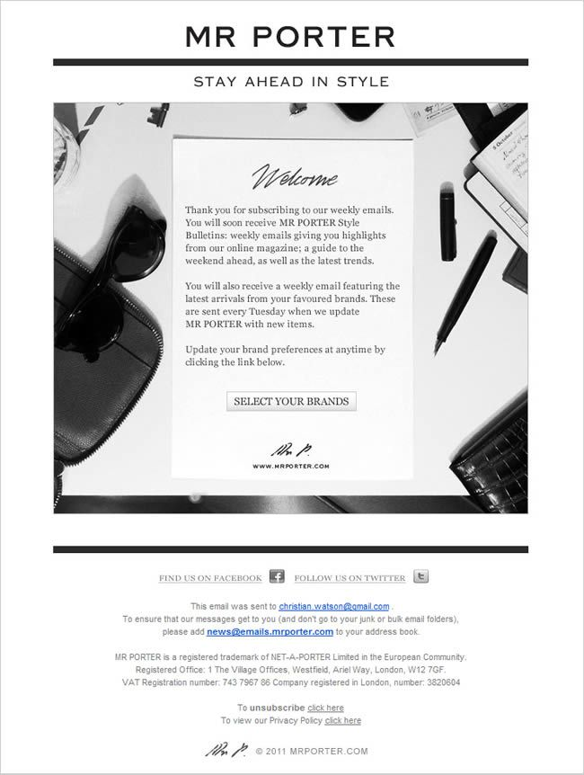 17 best welcome confirmation emails images on Pinterest Email - sending invoices by email