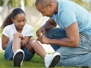 Primeiros socorros em crianças