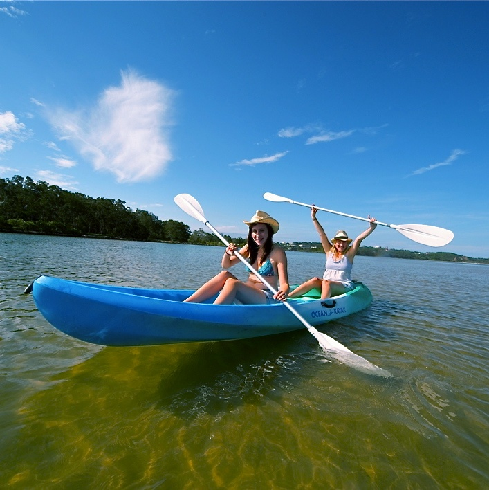 Kayaking the Nambucca River. Get fit, have fun and see the Nambucca Valley from a different perspective.