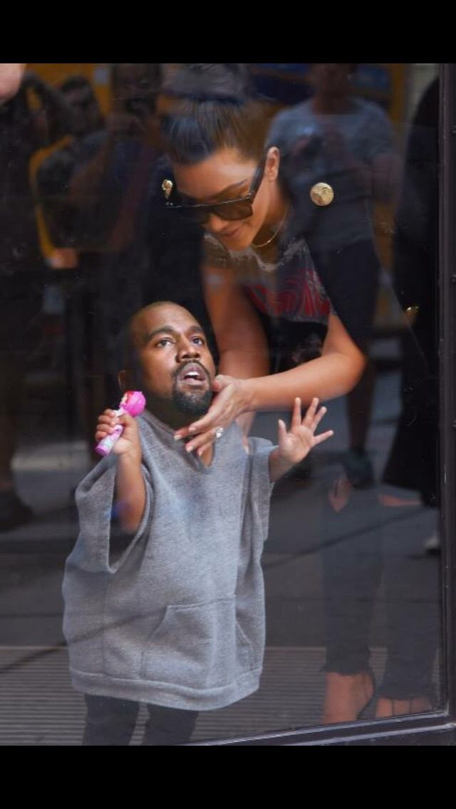 The way Kanye West has been acting recently   http://ift.tt/1on47q1 via /r/funny http://ift.tt/1TpGs5e  funny pictures