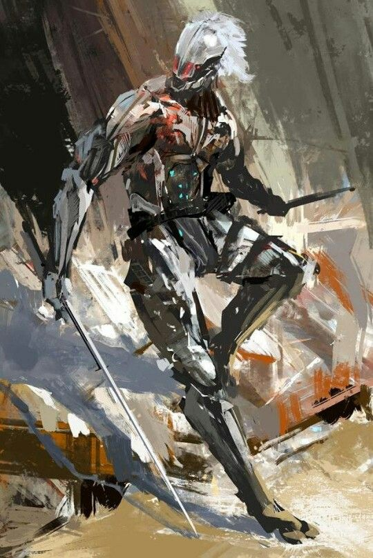 Raiden. Metal Gear Solid 4.