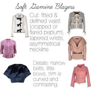 Soft Gamine (SG) Blazers