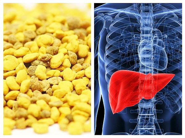 POLENUL amestecat cu MIERE poate trata HEPATITA cronică (studii)