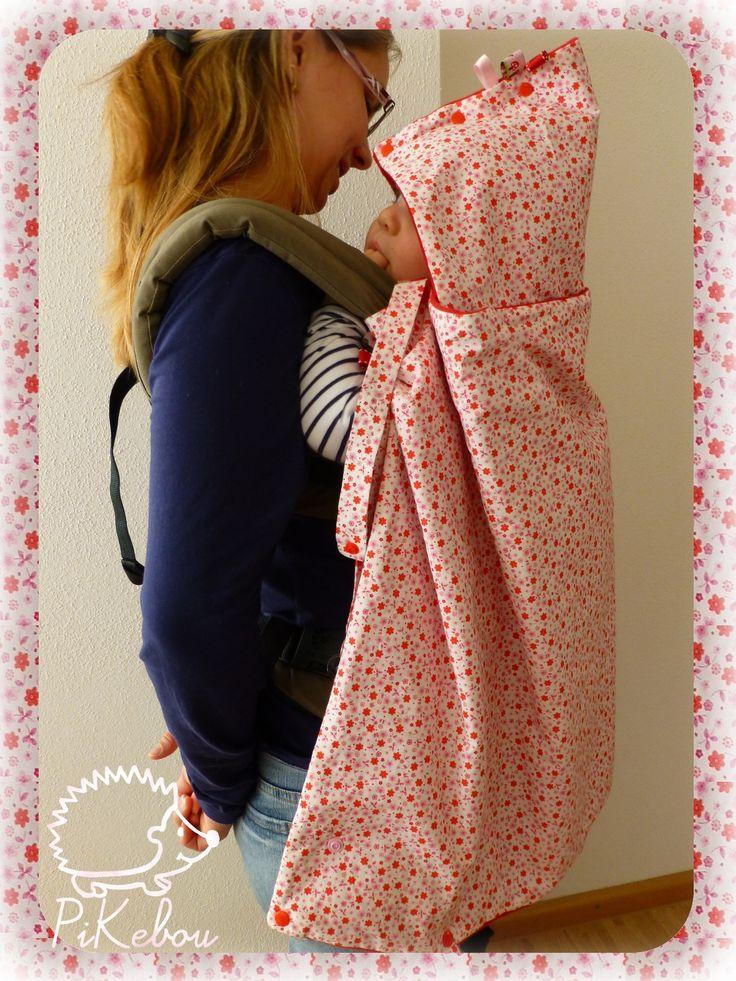 couverture bébé multifonctions - pour poussette, cosi ou porte -bébé