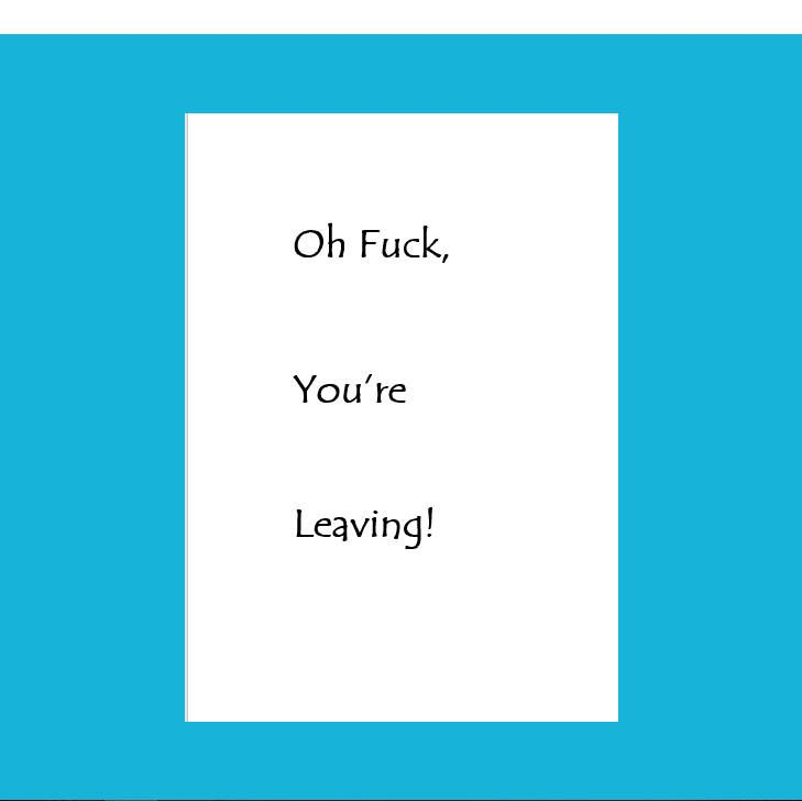 Funny Leaving Card, Funny New Job Card, Funny Coworker Leaving, Leaving Fuck Card, Oh Fuck You're Leaving, Good luck in your new job Card, congratulations on your new job, new job card handmade, new card job man,new job congrats card,new job card fun,leaving cards for coworkers,leaving card ideas,leaving card colleague, leaving card handmade,leaving card for friends,sorry you're leaving card,leaving card for friends, leaving card congrats, leaving card work,leaving card for men,leaving card…
