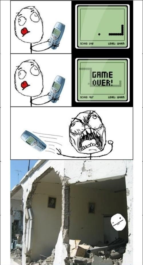 The power of Nokia (Lumia is as powerful but has better games)