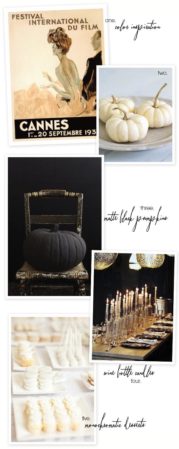 Halloween-Inspiration... love the bottles as candle holders!