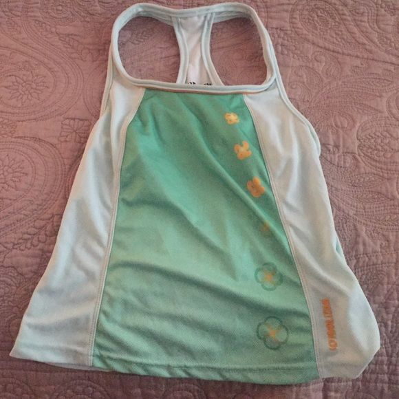 Brand new Pearl Izumi cycling top size small Brand new Pearl Izumi cycling top. Shirt called: Symphony top. Size: small. Mint green color. Never been worn. Cute workout top. Pearl Izumi  Tops