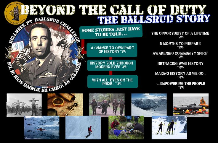 Beyond the Call of Duty: The Baalsrud Story - http://www.warhistoryonline.com/press-releases/beyond-call-duty-baalsrud-story.html