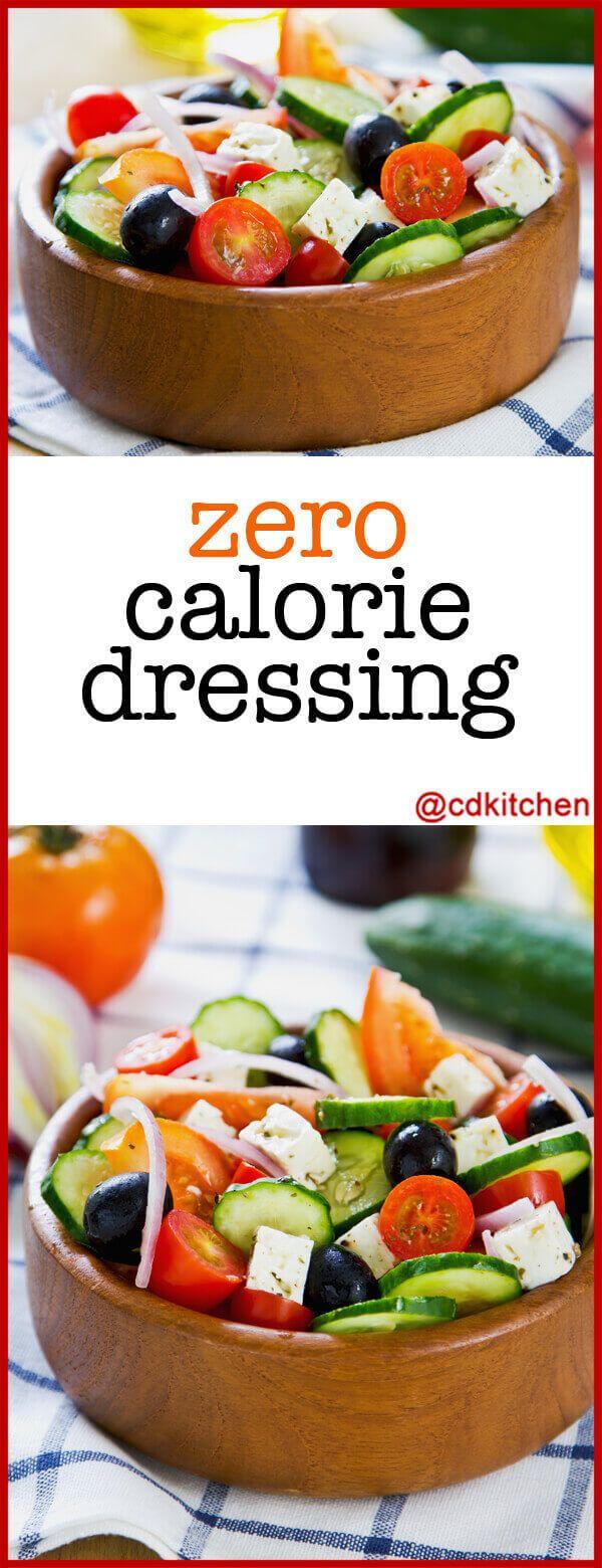 Zero Calorie Salad Dressing - Quick And Easy Vinegar-Based -9129