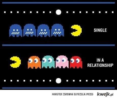 Pacman Single/In a relationship