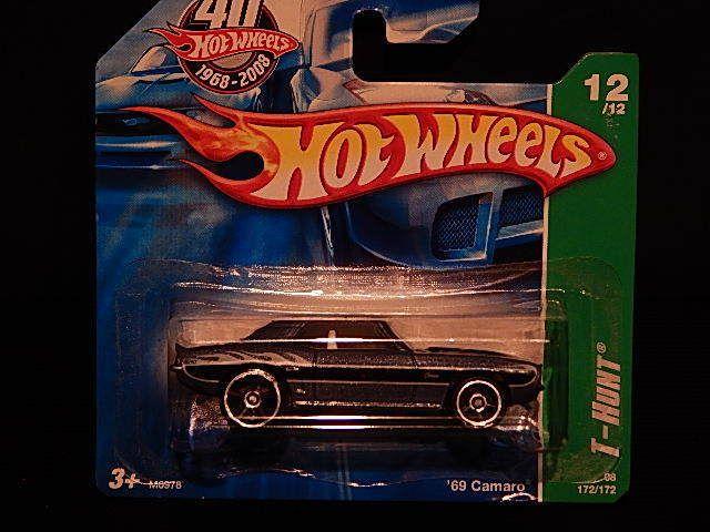 Hot Wheels Treasure Hunt T-Hunt '69 Camaro in Spielzeug, Spielzeugautos, Autos | eBay!