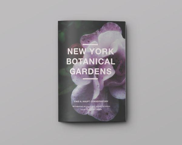 New York Botanical Gardens by Dora Tang, via Behance