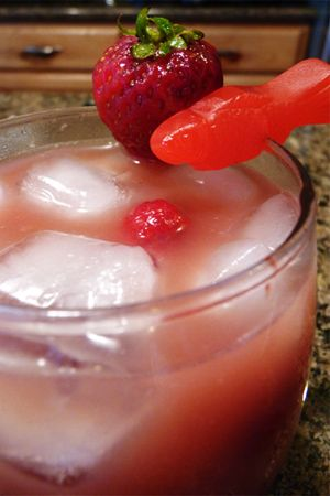 Shark attack sangria & more... non alcoholic versions too!