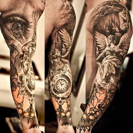 Tatuagens Realistas Masculinas e Femininas