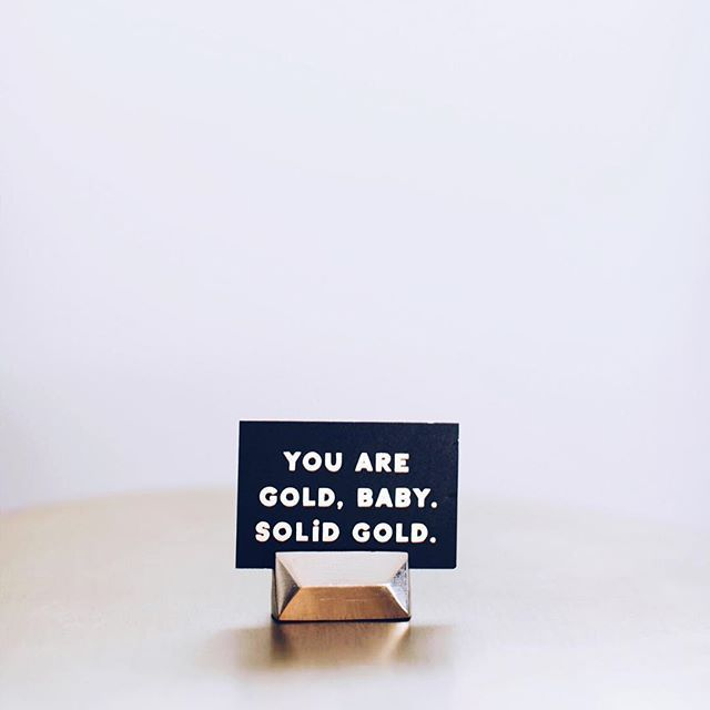 You are gold baby! Solid gold. Happy National Compliment Day! Remember to complement your loved ones! Which is your favorite compliment? Pretty, smart, funny, nice? 😉🙌🏼✨💕 . . #nationalcomplimentday #compliments #loveprayjewelry #sd #la #lajolla #malas #yoga #aromatherapy #healing #love #socal #calilife #lajollalocals #sandiegoconnection #sdlocals - posted by Lovepray Jewelry  https://www.instagram.com/loveprayjewelry. See more post on La Jolla at http://LaJollaLocals.com