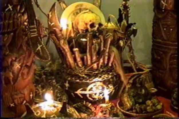 Altar palo mayombe