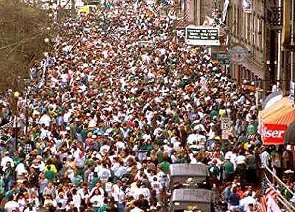 We have shuttles from Tybee Island to Downtown Savannah running all-day on Saint Patrick's Day in Savannah | St. Patrick's Day in Savannah, Georgia