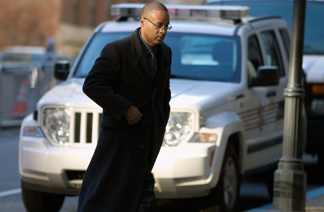 Caesar Goodson Jr. can keep his job with the Baltimore Police Department.