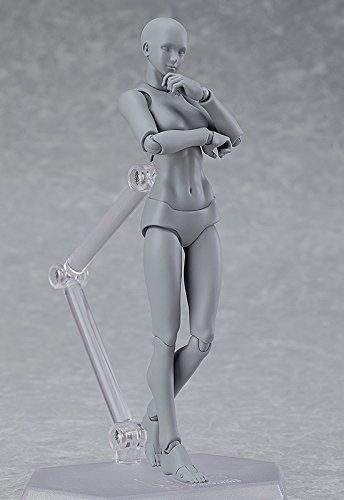 Amazon   figma archetype next:she grey color ver. ノンスケール ABS&PVC製 塗装済み可動フィギュア   フィギュア 通販