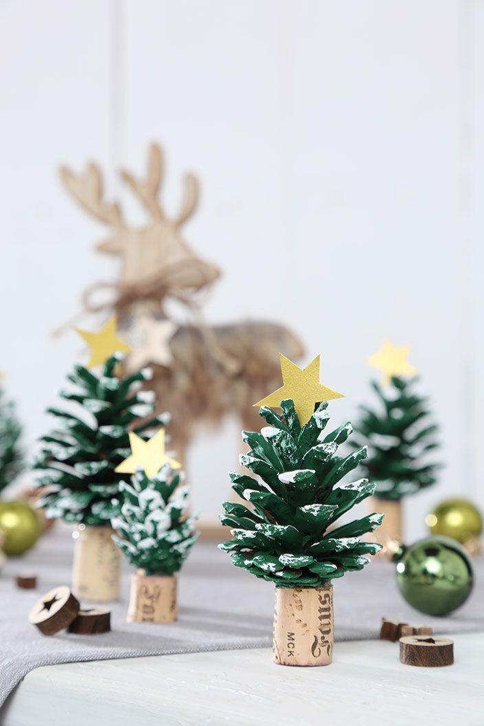 Weihnachtsbasteln: Drei Bastelideen   – DIY – Basteln mit Kindern