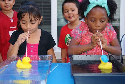 Duck Races Carnival Game Altered to Perfection