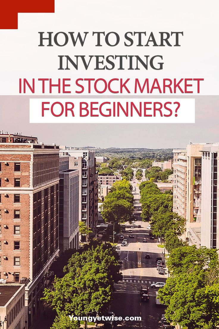 How to start investing in the stock market for beginners: Wow how great is this post? Super simple, and to the point  ways to get started investing. A must read if you want to get serious about your money this year. http://youngyetwise.com/how-to-start-investing-in-the-stock-market-for-beginners/