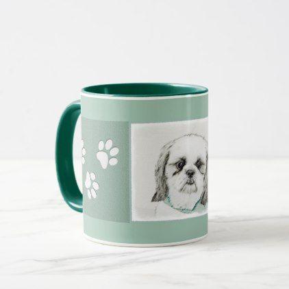 #Shih Tzu Mug - #shih #tzu #puppy #dog #dogs #pet #pets #cute #shihtzu