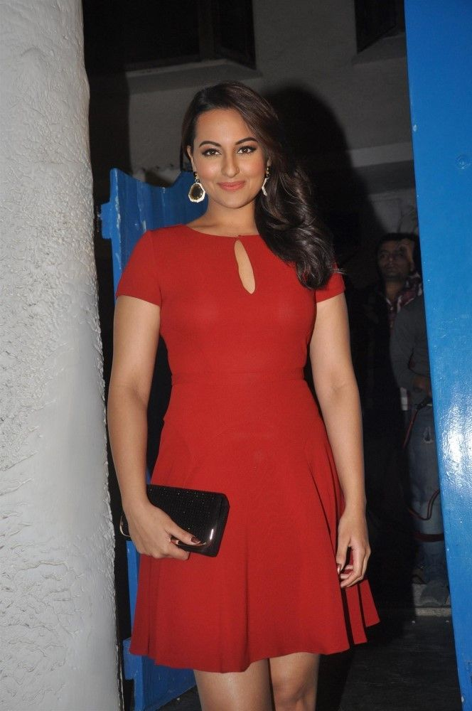 Download Sonakshi Sinha at the launch of Dabboo Ratnani's 2014 Wallpaper HD FREE