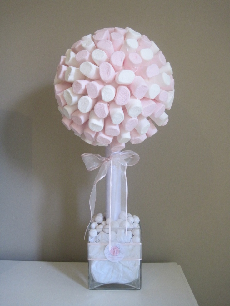 Marshmallow Tree Party Ideas And Decoratiom Pinterest