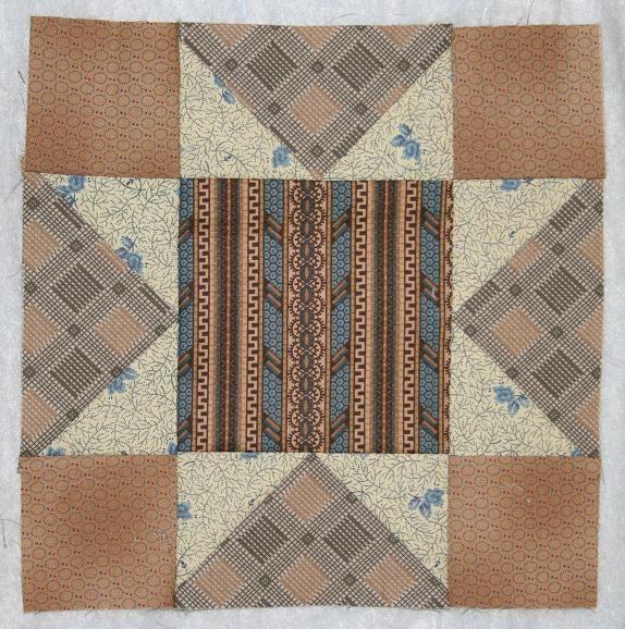 Civil War Quilts - Block 2 Blocks made to follow along with Barbara Brackman's Civil War Quilt's quilt-along.