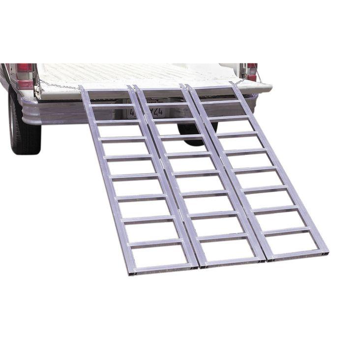 Haul-Master 69595 1500 Lb.  Tri-Fold Aluminum Loading Ramp @$!00