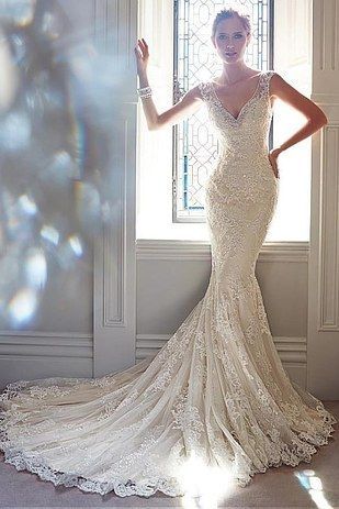 Best 25  Vintage style wedding dresses ideas on Pinterest ...
