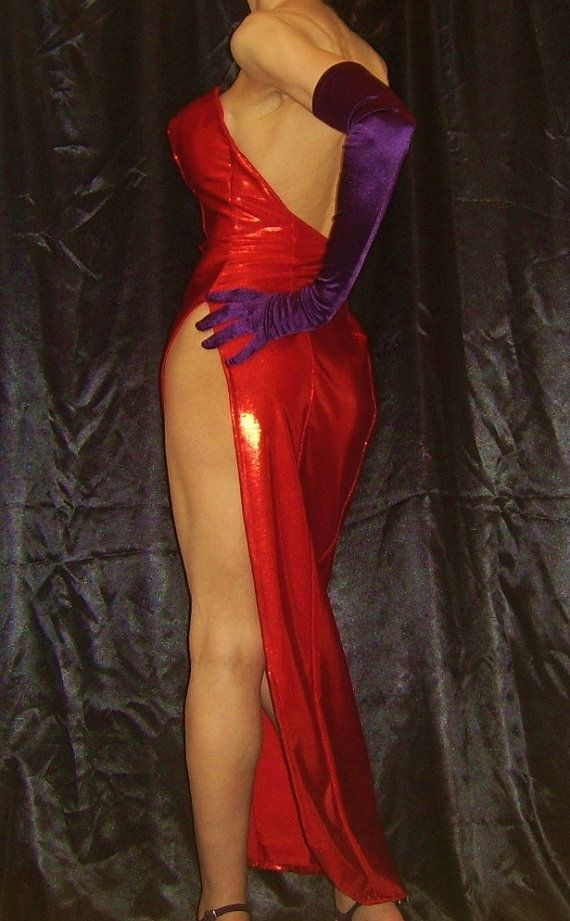 JESSICA RABBIT Costume Robe Jessica Rabbit fait sur commande Jessica Dress