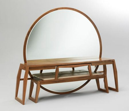 Mirror Bench table from Buhr: Extraordinary furniture