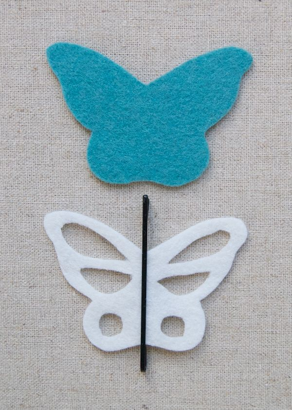 Molly's Sketchbook: Bobby Pin Butterflies - The Purl Bee - Knitting Crochet Sewing Embroidery Crafts Patterns and Ideas!