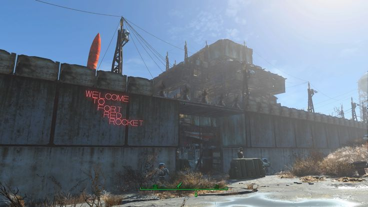 Fallout 4: The Minutemen Empire of General Harold - Fort Red Rocket