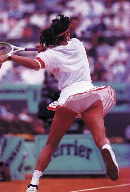 Tennis Panties Upskirt