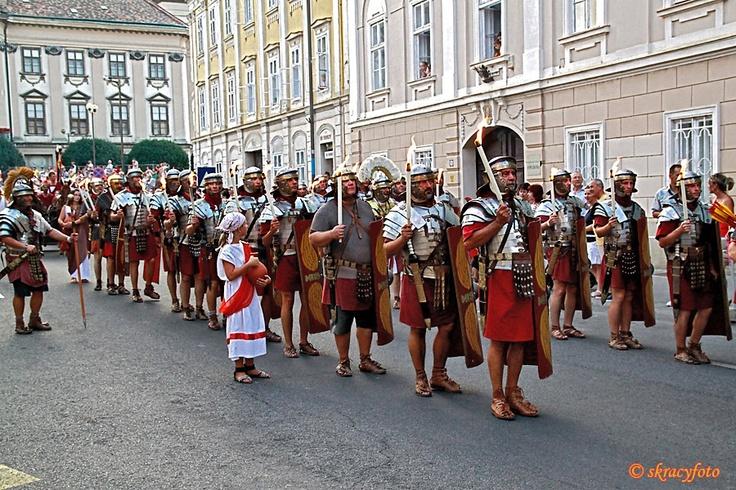 Savaria Historical Carnival (Szombathely, Hungary) - torchlight procession photos by skracyfoto
