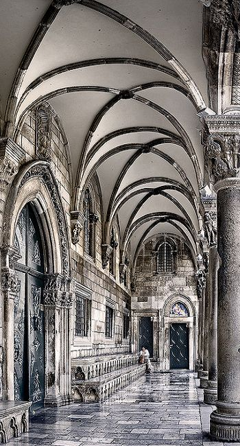 The Rector´s Palace, old town Dubrovnik, Croatia