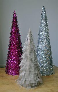 Home made kerst decoraties :)
