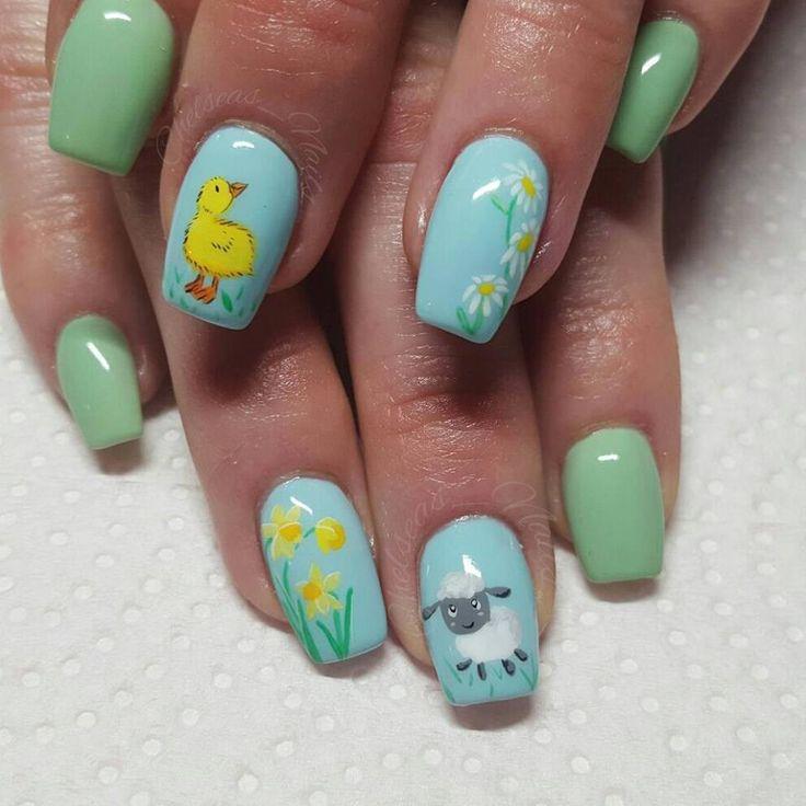 2017 nail art designs #christmas nails #easter nail art #egg shaped nails #spring nail designs #spring nails #st patrick's day nail designs #summer nails #valentines nail art