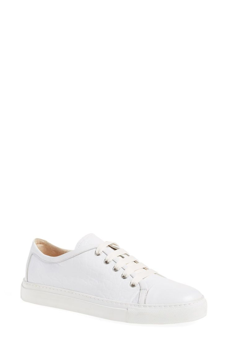 Free shipping and returns on Fabiana Filippi Lace-Up Sneaker (Women) at Fashiondoxy.com. Pre-order this style today! Add to Shopping Bag to view approximate ship date. You'll be charged only when your item ships.A classic low-top sneaker goes luxe in supp