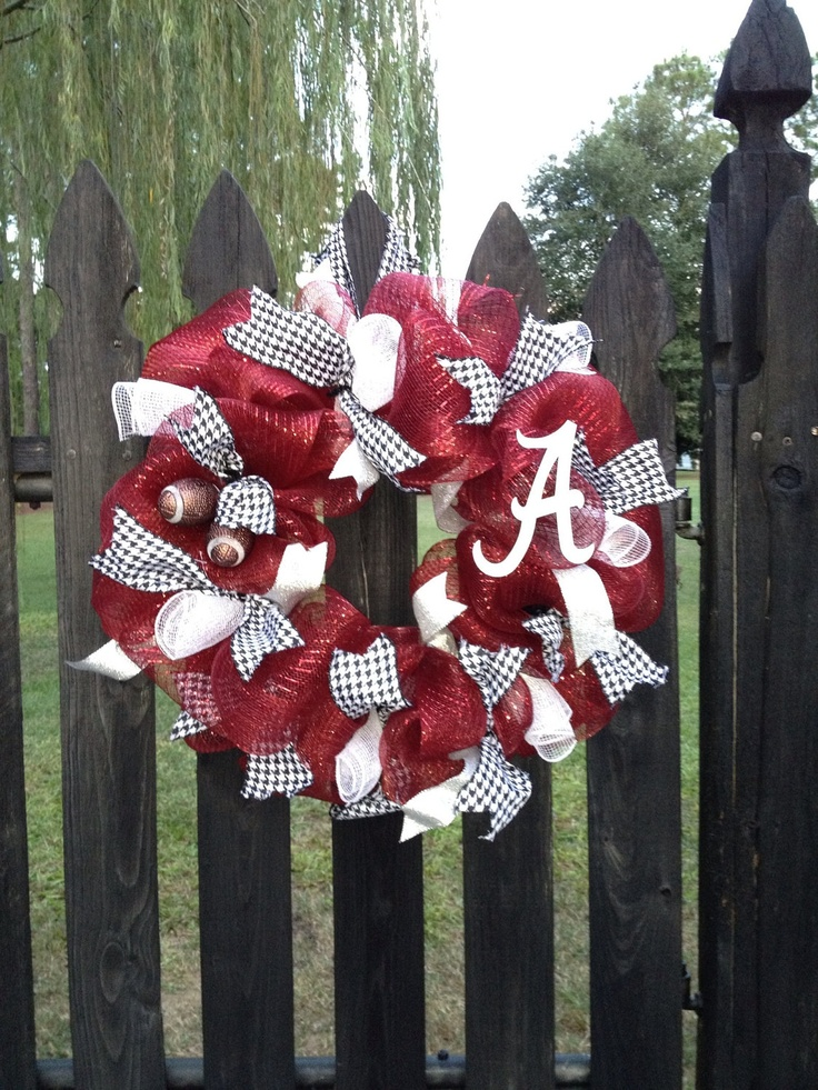 alabama wreath Laura, I can do this!