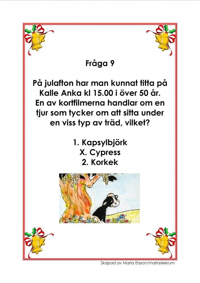 Mariaslekrum - Illustrerade frågeslingor.