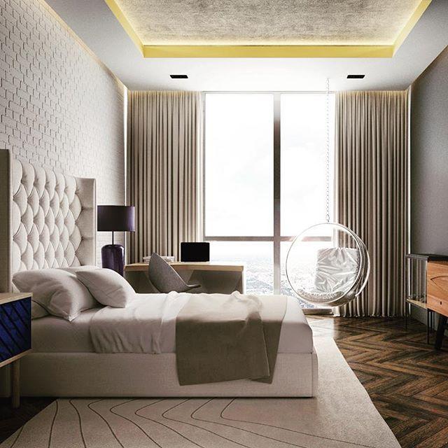 Не детская детская #roomdesignburo #moderninteriors #modern #bedroomdesign #brickswall #brickwallinterior